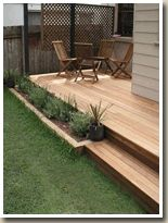 15 Outdoor Deck Ideas for Better Backyard Entertaining 2019 Outdoor Deck Ideas Most Creative Small Deck Ideas Making Yours Like Never Before! The post 15 Outdoor Deck Ideas for Better Backyard Entertaining 2019 appeared first on Deck ideas. Patio Deck Designs, Patio Design, Small Deck Designs, Front Yard Design, Backyard Patio, Backyard Landscaping, Landscaping Ideas, Pergola Patio, Small Backyard Decks