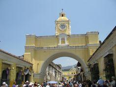 Clasico Arco de la Antigua Guatemala San Francisco Ferry, Building, Travel, Arch, Antigua Guatemala, Voyage, Trips, Buildings, Viajes