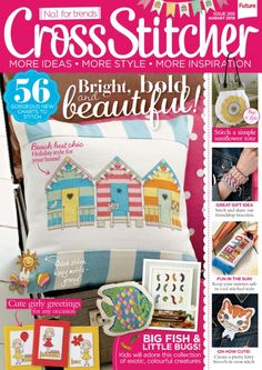 Cross Stitcher Magazine - August 2013 269 - CrossStitcher
