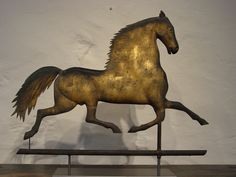 Antique Weathervanes   Running Horse Weathervane (SOLD)   Olde Hope Antiques