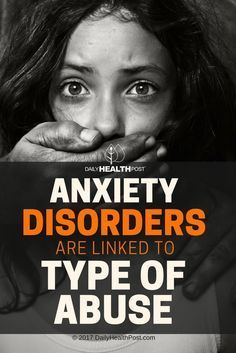 verbal abuse and bullying are some of the main causes of general anxiety disorder and other anxiety-related conditions.