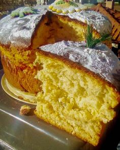 Cookbook Recipes, Sweets Recipes, Cake Recipes, Cooking Recipes, Greek Desserts, Greek Recipes, Vasilopita Cake, Greek Cake, Bread Machine Recipes