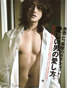 Image about akanishi jin in Jin Akanishi by hoven. Akanishi Jin, Hollywood Men, Asian Hotties, Handsome Faces, Kdrama Actors, Asian Men, Asian Guys, Girl Crushes, Cute Guys