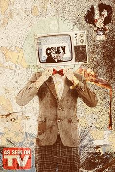 Television at times can play a part in influencing certain types of art i.e. digital art, art about TV    http://www.bbc.co.uk/news/entertainment-arts-17534937