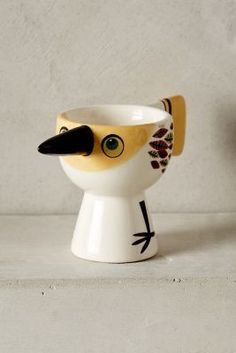 Hannah Turner Early Bird Egg Cup #anthrofave