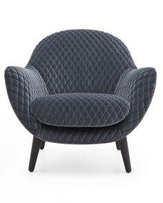"""Sillón de Marcel Wanders para Poliform (http://mobile.poliform.it). Una edición """"boatiné"""" para el 2015 de la serie Mad Chair. Sencillamente maravillosa."""