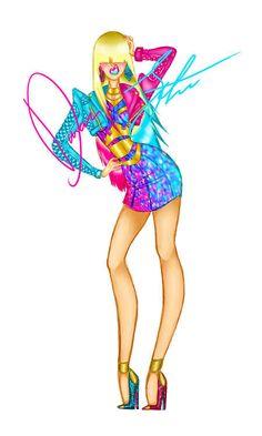 Disney Princesses Gone Punk - Aurora By: Daren J