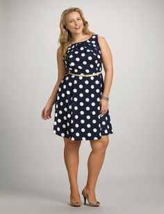 Moda para mujeres gorditas : Modernos vestidos casuales para gorditas