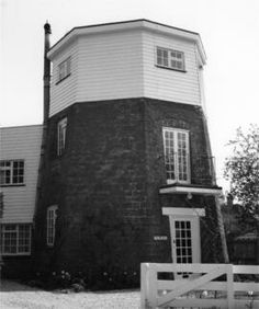 The Base of Champions Smock Mill,Wisborough Green, West Sussex. Converted into a residential property. In my studies of windmills I have encountered millers by the names of Smith, Baker, Draper even Tutelina, but never one called Miller!
