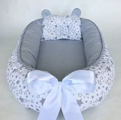 Babynest for Newborn, Removable mattress, Sleep bed,Baby Baby Nest Pattern, Baby Sewing Projects, Baby Shower Decorations For Boys, Baby Necessities, Baby Pillows, Baby Room Decor, Handmade Baby, New Baby Products, Baby Boy