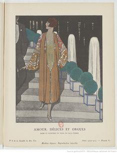 La Gazette du bon ton / directeur Lucien Vogel   null   Gallica