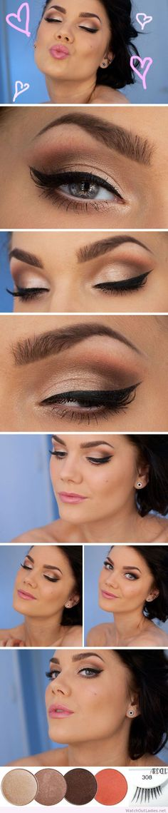 ~  we ❤ this! moncheribridals.com #weddingmakeup