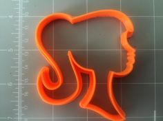 If you have a custom shape or logos in mind please contact us for your unique custom orders.This listing is for Barbie Silhouette Cookie Cutter, Measurements are approximately as shown 2.5x2.5 inches. Great size for making fun cookies for any occasion, its about 1/2