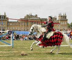 Blenheim Palace Spring Jousting Tournament