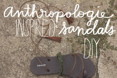 Always Rooney: Anthropolgie Inspired Sandals DIY Leather Scraps, Easy Sewing Patterns, Do It Yourself Projects, Joann Fabrics, Diy Clothing, Diy Projects, Diy Crafts, Crafty, Sandals