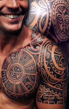 Tribal tattoos have their roots in ancient traditions and cultures. However they have become increasingly popular among men today because of their stylish look and designs which have come to be…MoreMore #tattoo, #tattooed