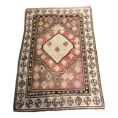 "Image of Bellwether Rugs Vintage Turkish Oushak Rug - 2'8"" X 3'6"""