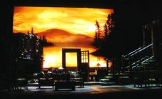 On Golden Pond. Broadway. Scenic design by Ray Klausen.