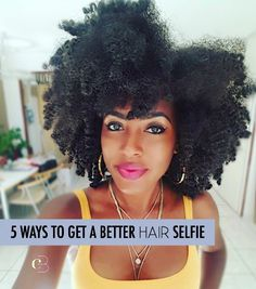 5 ways to get a better hair selfie - http://blog.curlbox.com/2016/08/25/5-ways-to-get-a-better-hair-selfie/