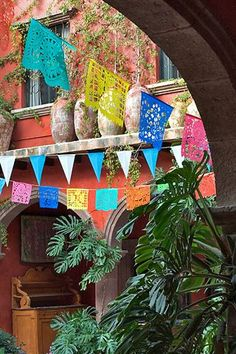 Day of the Dead Arts & Crafts Collection - Tissue-Paper Banners(Papel Picado) - DOD218