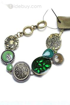 Girls, Jewelry , $15.99, Deluxe Desgin Green Vintage Style Girls Bracelet Bangle