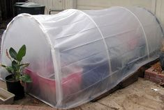 This incredible project is designed to let you build your own fully functional greenhouse for only $25. The lightweight design uses PVC pipes and plastic sheeting, and while it's certainly not the most handsome project on our list, it's definitely the most frugal. As long as it works properly, which this does, your plants will be happy and thriving all winter long.