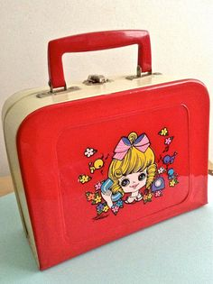 Vintage Japan Ayumi Uyama Suitcase