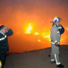 El terrible drama de Pumanque: más de la mitad de la comuna se quemó