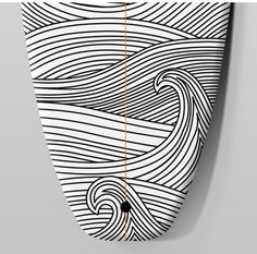 black and white surfboard designs