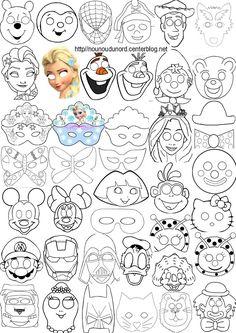 Masques à imprimer pour les enfants