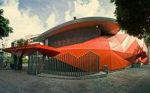 Centro Cultural Chacao, El Rosal, Caracas. Primera etapa Arquitecto Alvaro Rodríguez y la segunda etapa ODA Arquitectura