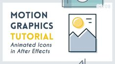 Intro to Motion Graphic Icons: Photo [2/8] | After Effects Tutorial