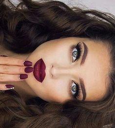 Wonderful contour, lipstick, and makeup myskinsfriend.sam… The post contour, lipstick, and makeup myskinsfriend.sam…… appeared first on Beauty and Fashion . Blue Eye Makeup, Glam Makeup, Makeup Tips, Beauty Makeup, Hair Makeup, Hair Beauty, Makeup Ideas, Makeup Lipstick, Natural Wedding Makeup