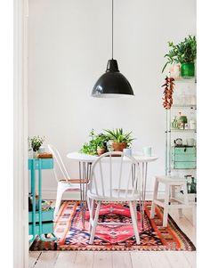 Une salle à manger colorée pinterest deco inspiration intérieur