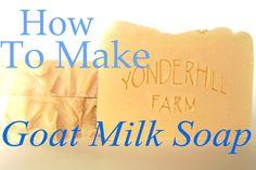 How to Make Goat Milk Soap - housebarnfarm.com *An easy tutorial for the first time goat milk soap maker*.