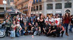 Makinostra logra 25 huchas de dinero en el Día de la Banderita. El pasado viernes, Makinostra, concesionario oficial Harley-Davidson en Madrid, participó en el Día de la Banderita recaudando 25 huchas de dinero que fueron destinadas a Cruz Roja.     Por cuarto año, la labor solidaria de Makinostra, con