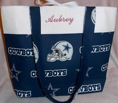 Personalized embroidered NFL dallas Cowboys baby by Cimplysews1, $35.00
