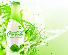 Coca-Cola Green by David Quartino (via Creattica)