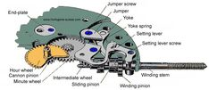 inside parts of wrist watch - Google Search