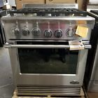 """NEW OUT OF THE BOX LAST YEARS MODEL DCS 30"""" PRO STYLE GAS RANGE STOVE STAINLESS"""