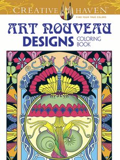 Set your imagination free with this mesmerizing gallery of 63 dynamic designs inspired by the works of M. P. Verneuil, Alphonse Mucha, and other Art Nouveau masters.