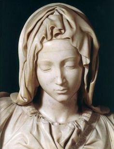 Today I would like to share with you some thoughts on two Michelangelo sculptures with the same subject: Pieta. There is a third Michelangelo Pieta in Milan, Italy, but I will not include it in thi… Michelangelo Pieta, Michelangelo Sculpture, Michelangelo Paintings, La Pieta, Pieta Statue, Madonna And Child, Art Design, Art Reproductions, Art History