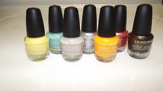 Beatuty on a budget: L.A colors nail varnish