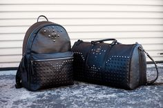 MCM and legendary designer Stark releases the Black Stark Bag Collection – Backpack & Holdall. Limited quantities.