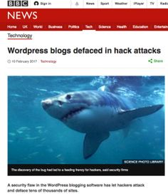 BBC News Alert  Is your website protected?