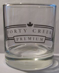 Forty Creek Premium Whiskey Promotional Tumbler - Glass Forty Creek http://www.amazon.com/dp/B0093SP8BG/ref=cm_sw_r_pi_dp_qE92ub16DFEWP