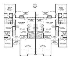 Davis Rustic Multi-Family Home Plan 055D-0866 | House Plans and More