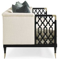 Caracole Lattice Entertain You Sofa  | Candelabra, Inc.