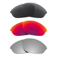 9c2c52cd9b Revant Replacement Lenses for Oakley Half Jacket 3 Pair Combo Pack K017    Check  out