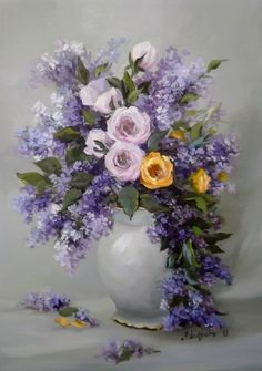 ✿Bouquet & Full Of Flower Basket✿ Anca Bulgaru